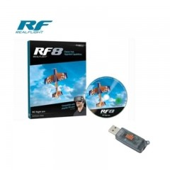 REALFLIGHT 8 SOFTWARE 시뮬레이터 +Wireless Simulator Dongle WS1000 동글